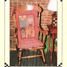 COUNTRY SAMPLER CHAIR CUSHIONS APPLIQUE SEWING PATTERN