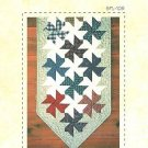 PINWHEEL PUZZLE TABLE RUNNER QUILT QUILTING PATTERN NEW