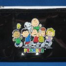 PEANUTS GANG Snoopy Round Vinyl Cosmetic Case New