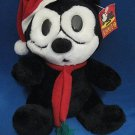 FELIX CAT CHRISTMAS PLUSH STUFFED KITTY COLLECTIBLE MWT