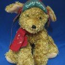 HALLMARK BUDDY HOLLYDAY CHRISTMAS PLUSH PUPPY DOG 2002