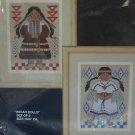 BUCILLA INDIAN DOLLS COUNTED CROSS STITCH KIT 40152 NEW