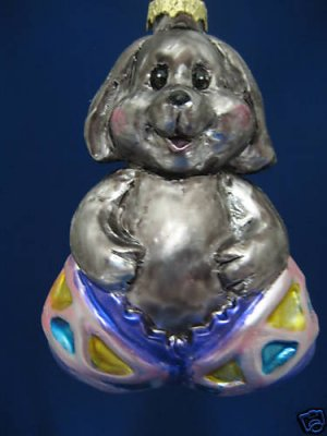 SPRING BUNNY IN COLORFUL EGG EASTER TREE ORNAMENT NIB