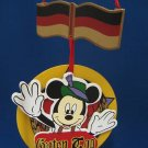 DISNEY GERMAN MICKEY MOUSE GUTEN TAG ETHNIC ORNAMENT
