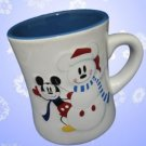 DISNEY SNOWMICKEY MICKEY MOUSE SNOWFLAKES MUG CUP