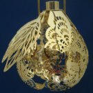 Hallmark Magic Light Partridges Pear Xmas Ornament NIB