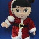 DISNEY MONSTERS INC HOLIDAY BOO PLUSH DOLL CHRISTMAS