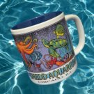 CHICAGO SHEDD AQUARIUM COLORFUL FISH SOUVENIR MUG CUP