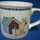 RAINING CATS & DOGS CITATIONS 1 COFFEE MUG CUP DOGHOUSE