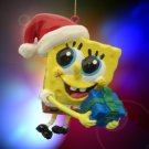 SpongeBob Squarepants Santa Hat Gift Christmas Ornament