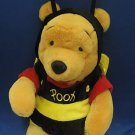 DISNEY WINNIE POOH BUMBLE BEE COSTUME PLUSH BEAR CUTE