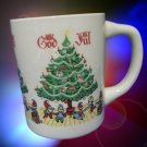 BERGGREN SCANDINAVIAN GOD JUL MERRY CHRISTMAS MUG CUP