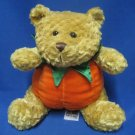 Teddy Bear Autumn Halloween Pumpkin Plush Snuggie Toy