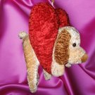 Puppy Dog Heart Valentine's Day Plush Stuffed Animal