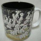 DISNEY 101 DALMATIANS PUPPIES MUG CUP JAPAN MINT CUTE