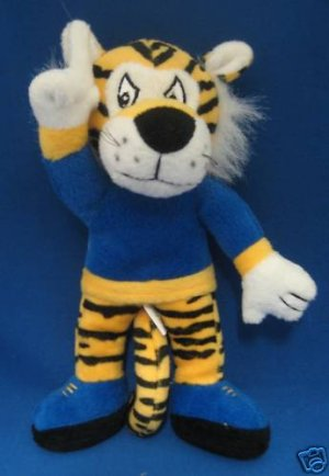 LSU FIGHTING TIGERS COLLEGE MASCOT PLUSH COLLECTIBLE NR