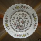 KASHMIR TREE EARTHENWARE 1 DINNER PLATE JAPAN VINTAGE