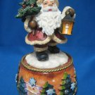 Here Comes Santa Claus Christmas Music Box Holiday New