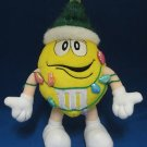 M&M M&Ms YELLOW CHRISTMAS TREE PLUSH COLLECTIBLE CUTE