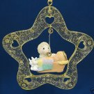 PRECIOUS MOMENTS NEW BABY CHRISTMAS ORNAMENT NEW IN BOX