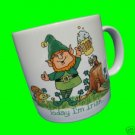 TODAY IRISH TOMORROW HUNGOVER LEPRECHAUN MUG CUP