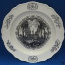 WILLIAMSBURG VIRGINIA CAPITOL PLATE WEDGWOOD ENGLAND