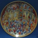 BILL BELL HOLY CATS COLLECTOR PORCELAIN PLATE W COA NR