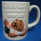 WORLDS MOST UNDERRATED BOWLER BOWLING 3D MUG CUP JAPAN