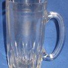 VINTAGE HAZEL ATLAS GLASS BEER BEVERAGE STEIN MUG