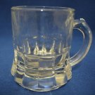 VINTAGE MINI STEIN GLASS SHOT GLASS TOOTHPICK HOLDER NR
