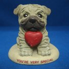 PUG PUPPY DOG YOU'RE VERY SPECIAL FIGURINE STATUE CUTE