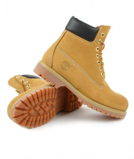 "NIB MENS TIMBERLAND BOOTS 6"" WHEAT 8-13"