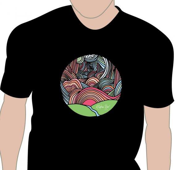 t-shirt - circle world