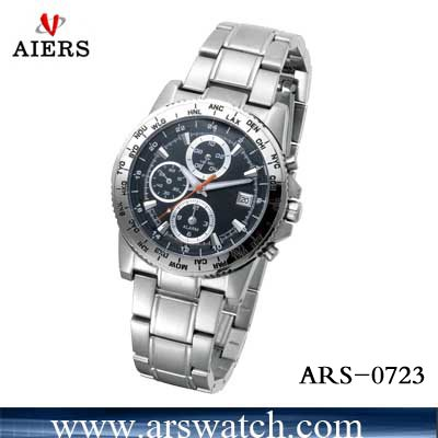 high quality stainless steel watch ARS-0723