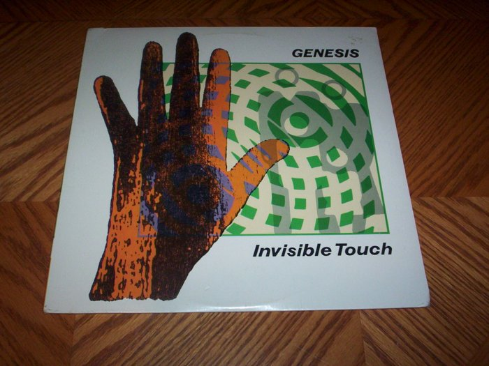 Genesis - Invisible Touch ( Sealed LP )
