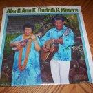 Abe & Ann K. Dudoit & Mana'e - Fun Records FRS 1100 ( Sealed LP )