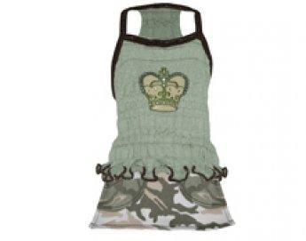 Crown Camo Dog Dress