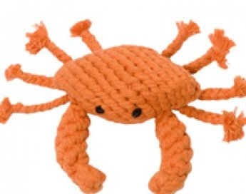 Crab Rope Toy