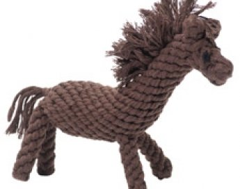 Horse Rope Toy