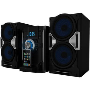 Sylvania CD Stereo System with iPhone / iPod Dock