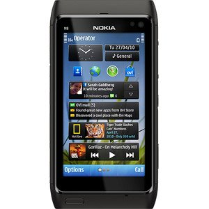 Nokia N8 12MP Camera GSM Phone, Gray (Unlocked)