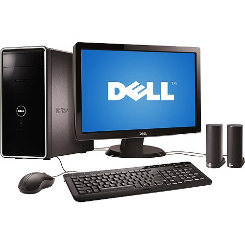 Dell Piano Black Inspiron 560 Desktop PC