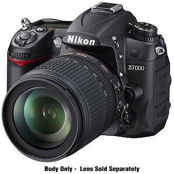 Nikon D7000 DX-Format Digital SLR Camera (Body Only)