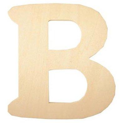 Wood Letter - B