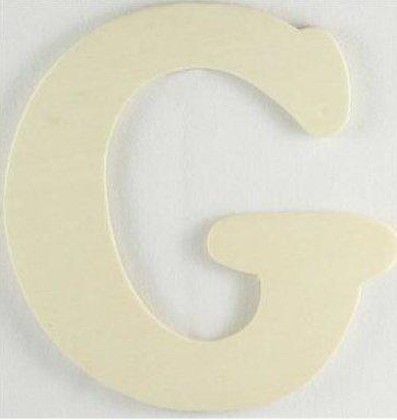 Wood Letter - G