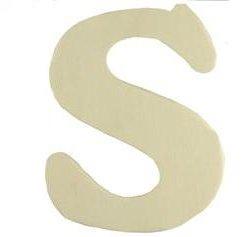 Wood Letter - S