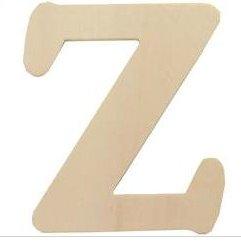 Wood Letter - Z