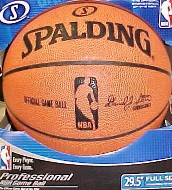 NEW NBA BASKETBALL 2010 SPALDING OFFICIAL GAME BALL
