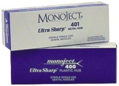 MONOJECT DENTAL NEEDLES - SHORT (100)