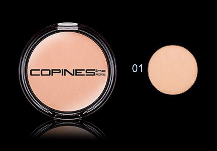 Copines Line Paris COMPACT POWDER VELVET - colour 01 - translucent